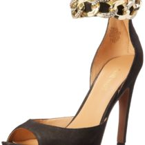 Nine West Mostfab Dress Sandal in Black Color