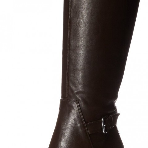 Nine West Navita Knee HighBoot in Dark Brown Color