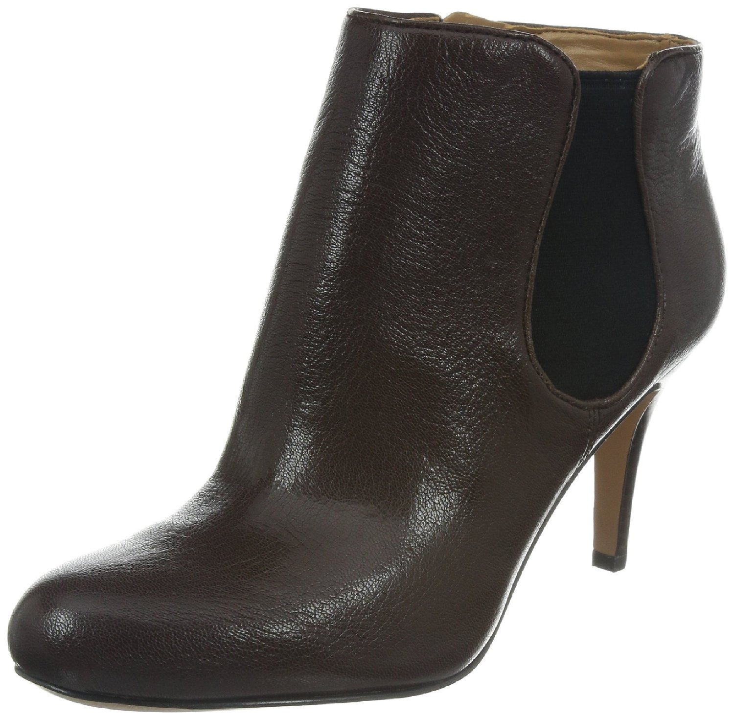 nine west rallify leather ankle high boot