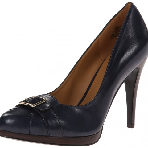 Nine West Rascal Platform Pump Navy Color