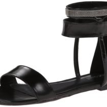 Nine West Saffy Dress Sandal in Black Color