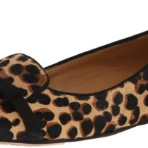 Nine West Saxiphone Pony Ballet Flat in Natural Multi Black Color