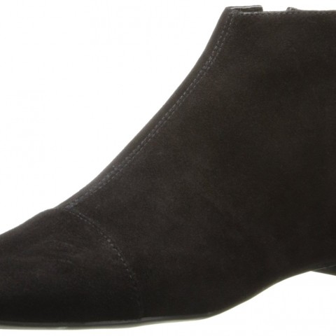 Nine West Soozie Suede Boot in Black Color