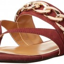Nine West Stan Leather Dress Flat Sandal