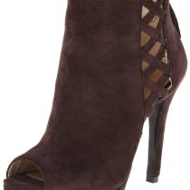 Nine West Svanity Boot in Dark Brown Color