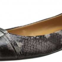 Nine West Syde Ballet Flat in Grey Multi Color