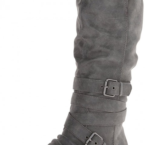 Roxy Greenwich Motorcycle Boot in Black Color