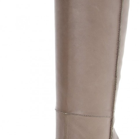 Sam Edelman Foster Riding Boot in Sharkskin Color