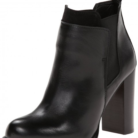 Sam Edelman Kenner Chelsea Boot in Black Color