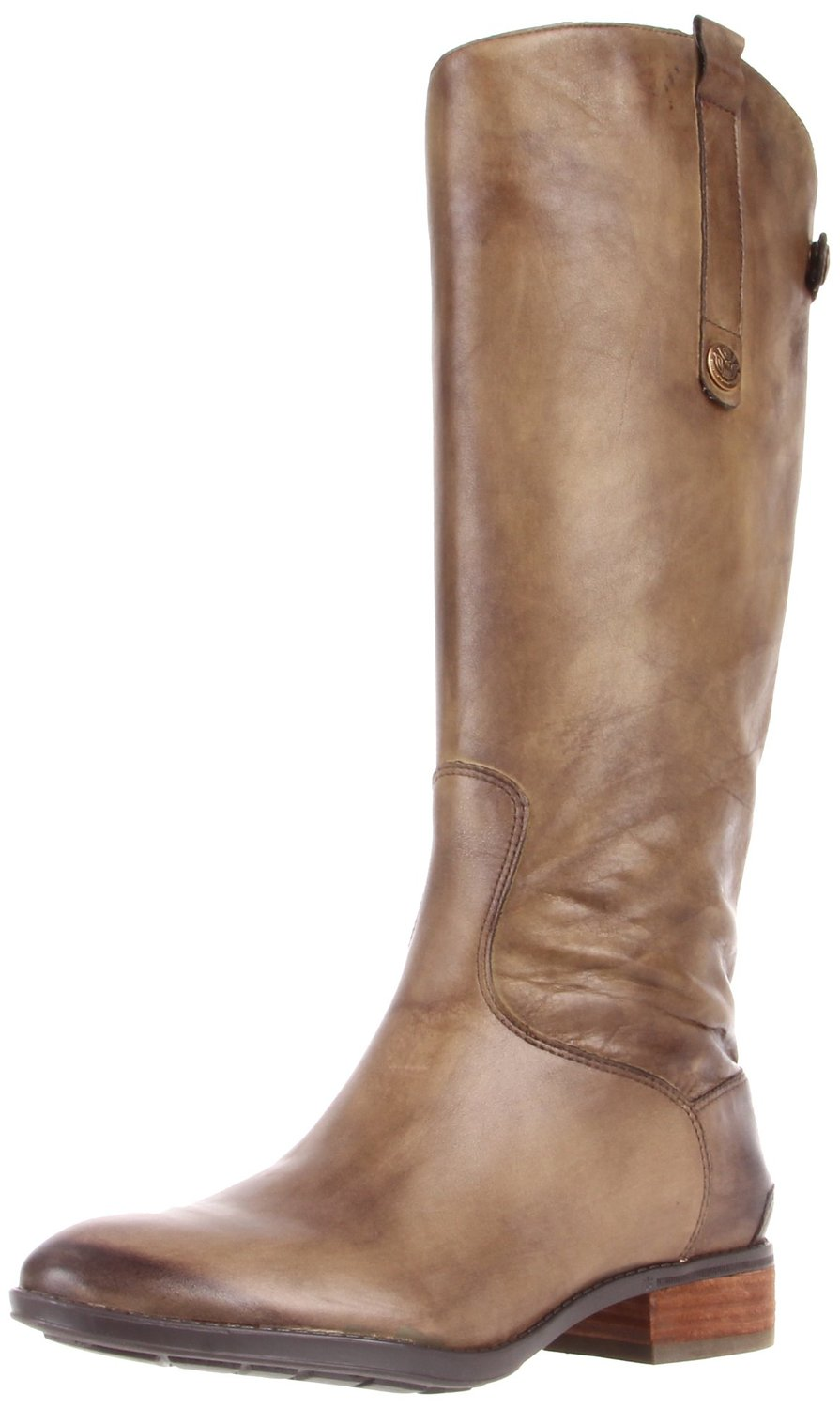 a62d57d1f Sam Edelman Penny Leather Knee High Riding Boot