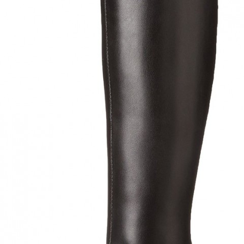 Shop Nine West Chorus Over-the-Knee Boot in Black Color
