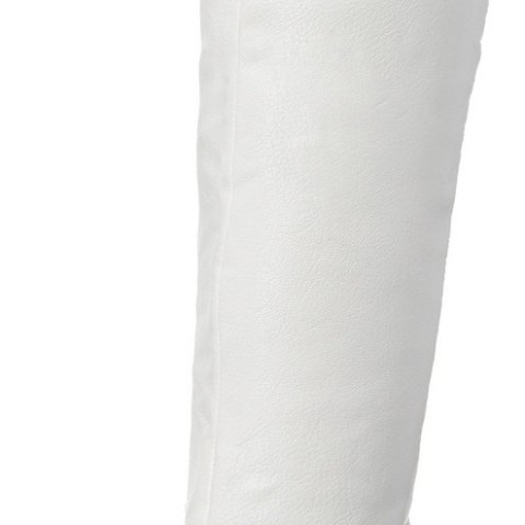 Steve Madden Animall Slouch Boot in White Color