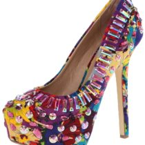 Steve Madden Ditzy Dress Pump in Bright Multi Color