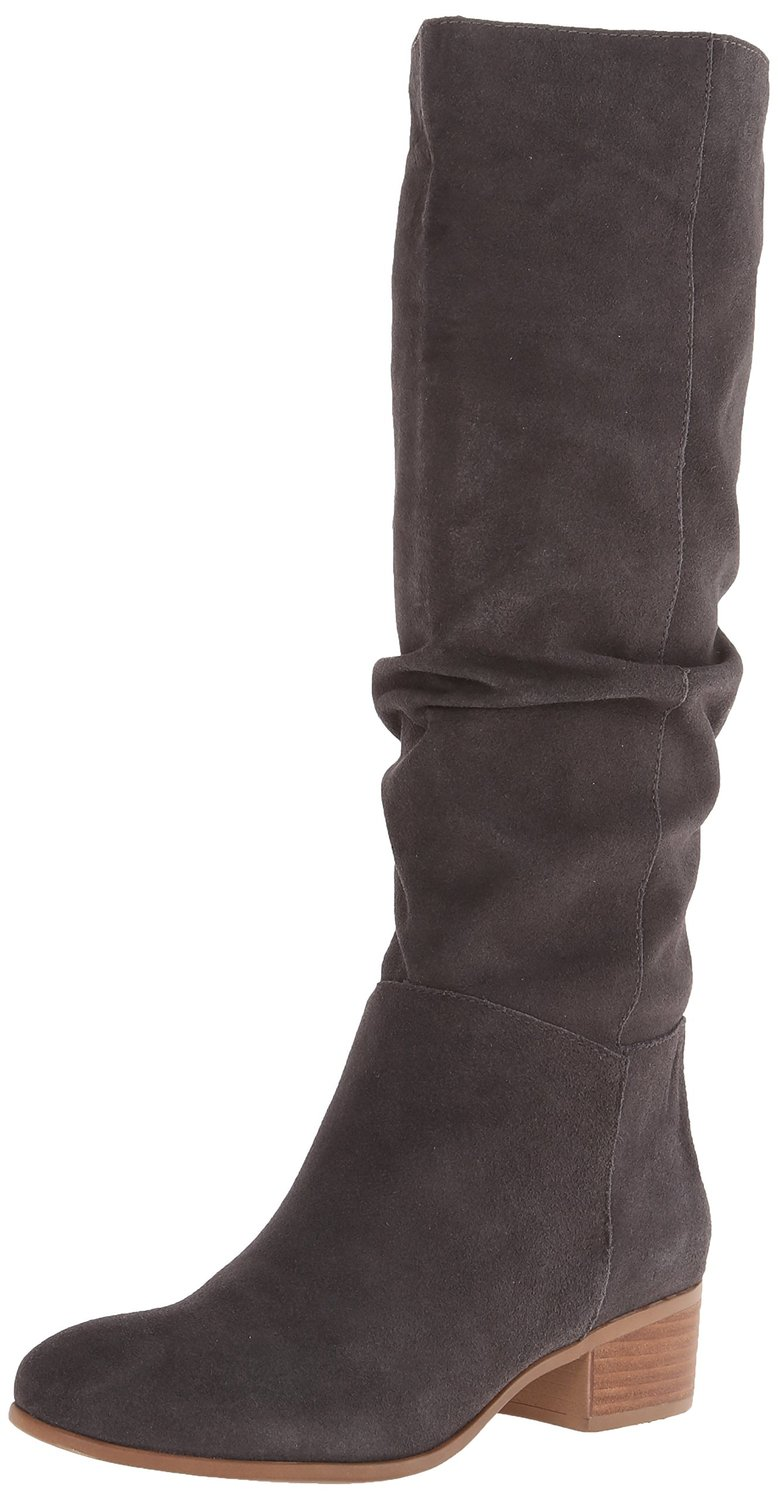 steve madden pondrosa slouch leather knee high boot