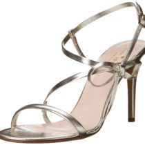 kate spade new york Ivan Dress Sandal in Platinum Color