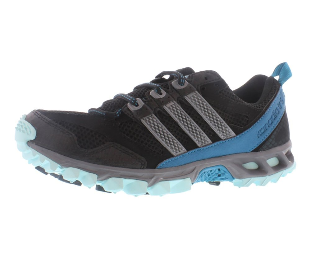 promo code 630cb 068ae Adidas Womens Kanadia 5 TR W Black blue Running Shoes US 11 NIB in  BlackGreyBlue