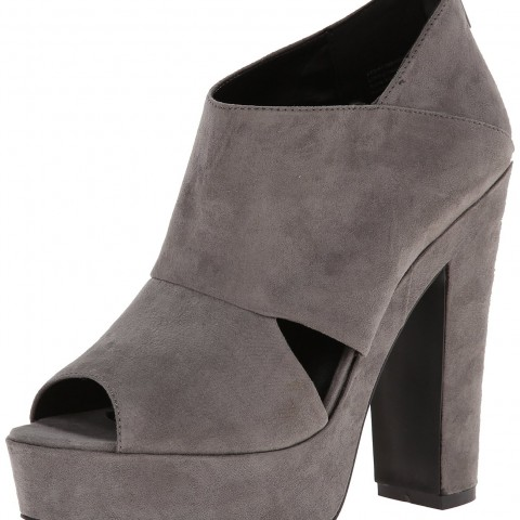 Aldo Degioz Platform Pump in Grey Color