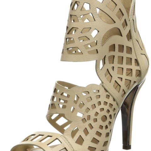BCBGMAXAZRIA Maven Dress Pump in Light Straw Color