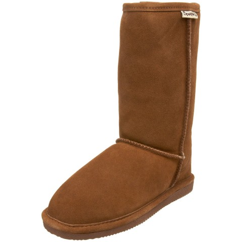 BEARPAW Eva 10 Shearling Boot in Hickory II Color