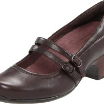Clarks Sugar Dust Pump in Brown Leather Color