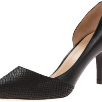Cole Haan Highline D'Orsay Pump in Black Snake Print Color