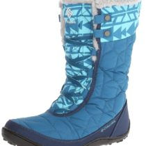 Columbia Minx Mid II Omni-Heat Print Winter Boot in SiberiaOyster Color