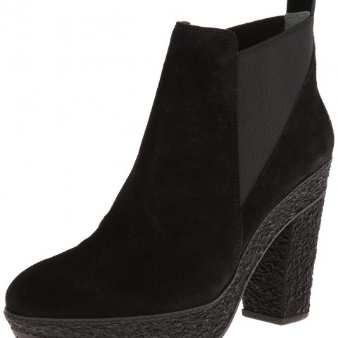 Diane von Furstenberg Paisley Boot in black