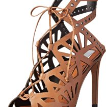 Dolce Vita Helena Dress Sandal in Caramel Color
