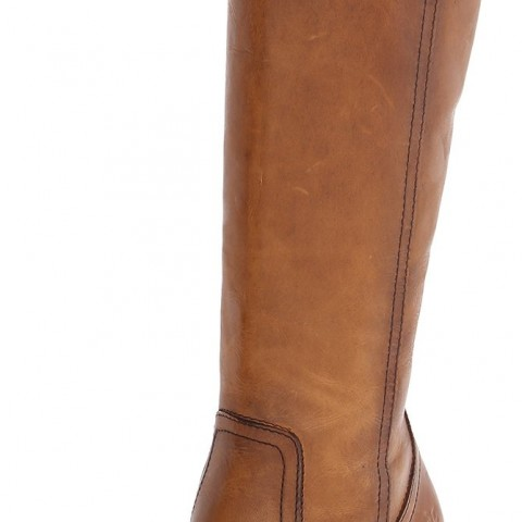 FRYE Parker Tall Riding Boot in Tan Color
