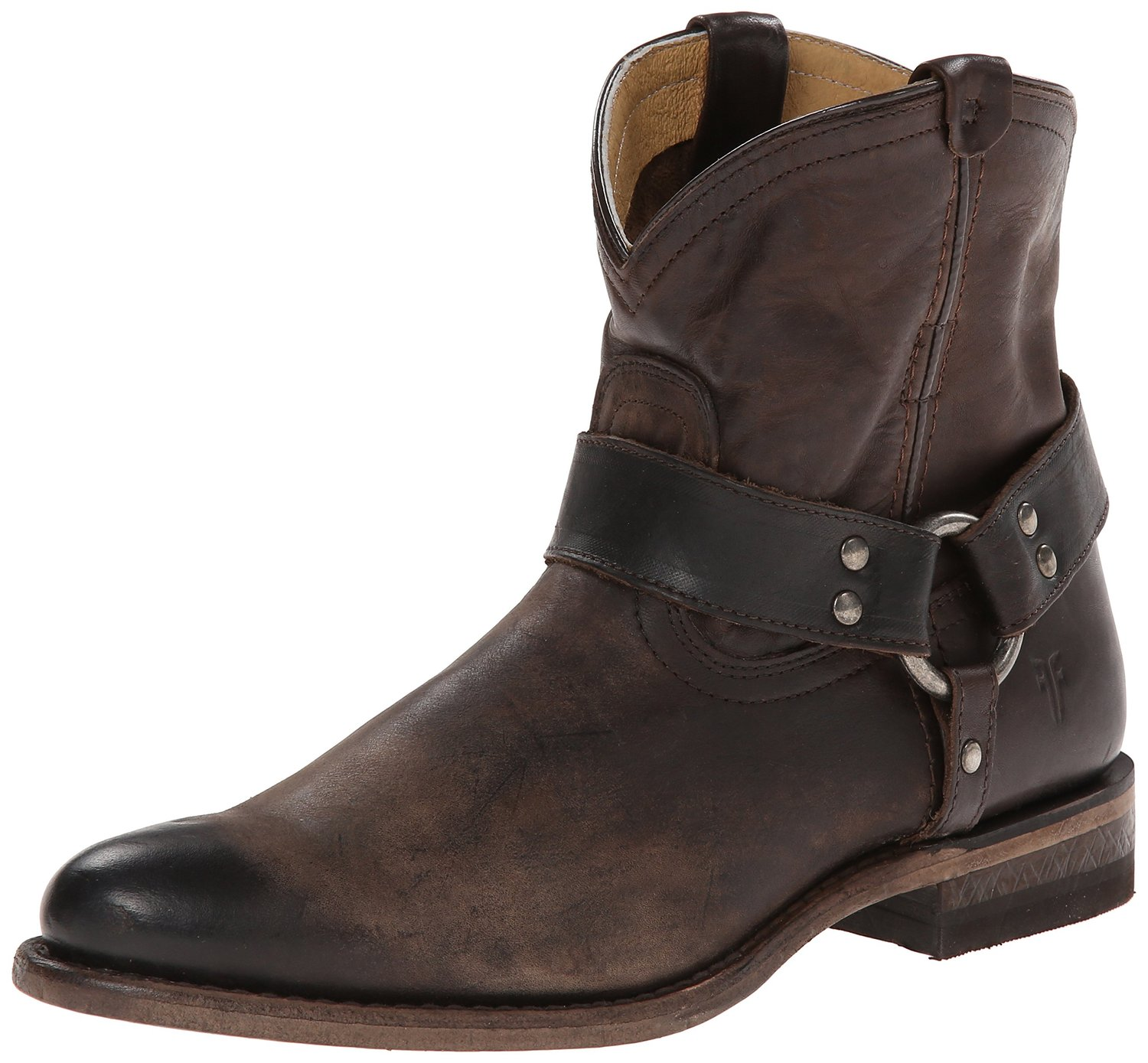9098ea37df1 FRYE Wyatt Harness Short Western Boot