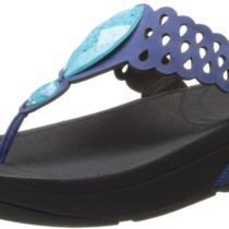 FitFlop Bijoo Thong Sandal in Mazarine Blue Color