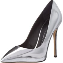Giuseppe Zanotti E56044 Dress Pump in Mirror Argento Color
