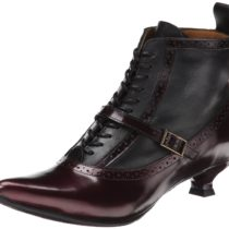 John Fluevog Bronte Dress Pump in Burgundy Color
