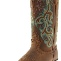 Justin Boots L2552 Stampede Western Boot in Sorel Apache Color
