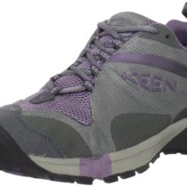 KEEN Tryon Waterproof Trail Running Shoe in GargoylePurple Sage