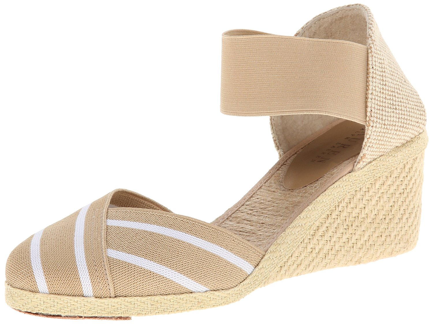 lauren ralph lauren charla espadrille sandal. Black Bedroom Furniture Sets. Home Design Ideas