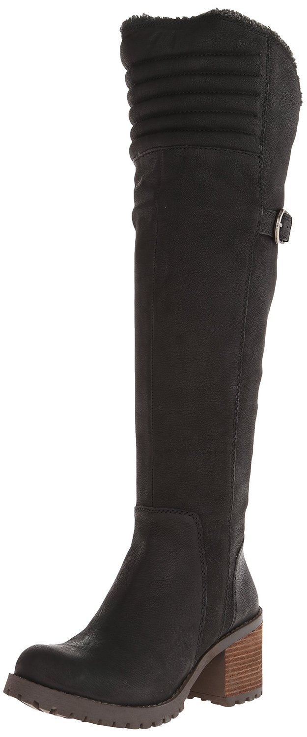 Lucky Brand Narlee Over The Knee Motorcycle Boot