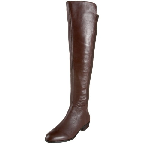 MICHAEL Michael Kors Bromley Flat Boot in Coffee Color