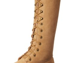 Madden Girl Yumi Boot Tan Fabric Color