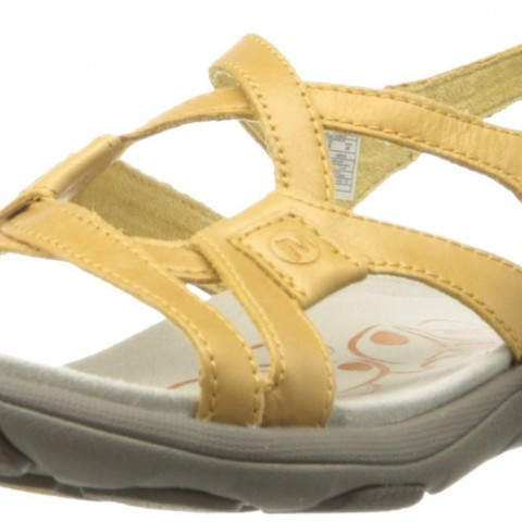 Merrell   Agave 2 Lavish Sandal in Spruce Yellow