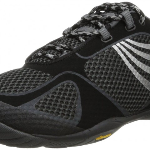 Merrell Pace Glove 2 Trail Running Shoe in Black Silver