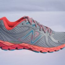 New Balance W870PG3 Running Shoe 7 B 2015 Grey Pink
