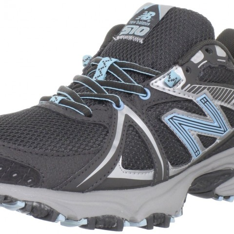 New Balance WT510 Trail Running Shoe in BlackBlue
