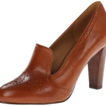 Nine West Chawlstn Dress Pump Cognac Color