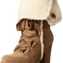 Nine West Magichat Knee-High Boot in Taupe Color