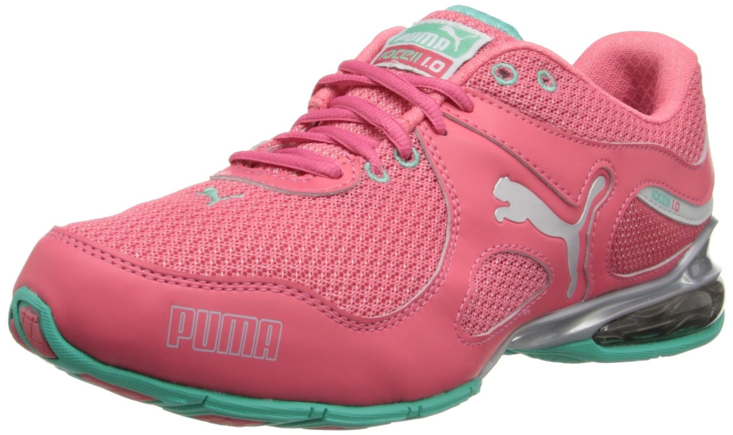 fb9334d08bca ... coupon for puma cell riaze cross training shoe in calypso coral  electric green glacier gray ad84c