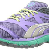 PUMA  Faas 500 Trail Running Shoe in Dahlia PurpleTurbulenceSilver Metallic