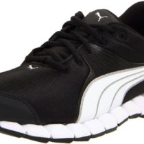 Puma Osuran Cross-Training Shoe in BlackWhiteSilver Metallic