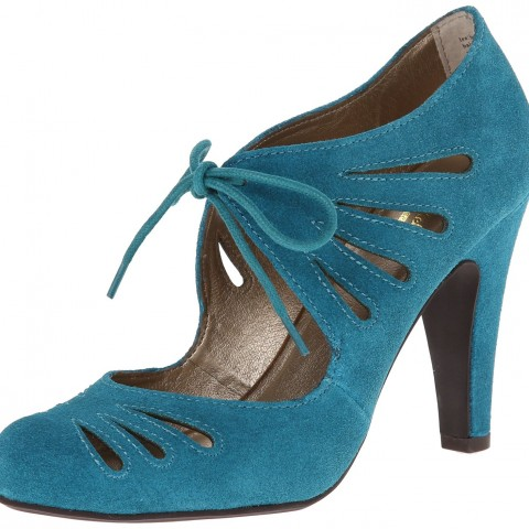 Seychelles Brave Dress Pump in Teal Color