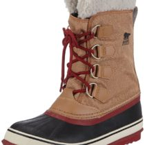 Sorel Winter Carnival Boot in ElkRed Dahlia Color